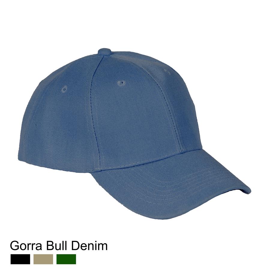 Gorra Bull Denim Azul Celeste  e020078b986