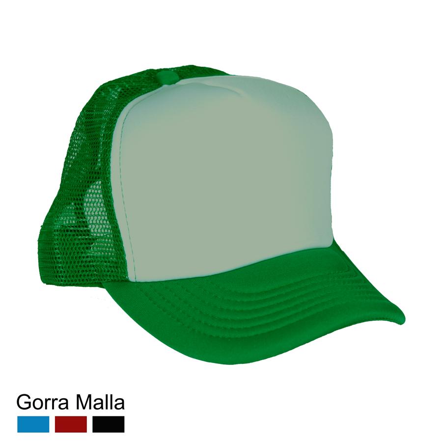 Gorras De Malla Verde  312500c9609