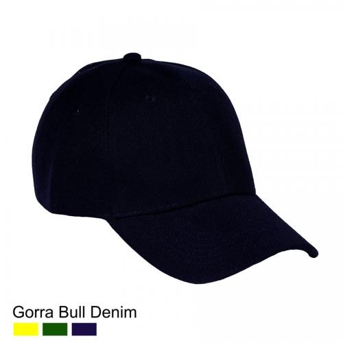 7fbc8d4729c3b Gorra Bull Denim Azul Marino